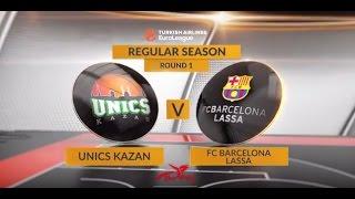 EuroLeague Highlights: Unics Kazan-FC Barcelona Lassa
