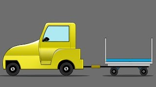 Kids TV Channel | Airport Baggage Truck | vehicle assembly for kids | cartoon videos for kids