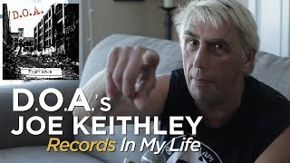 Joe Keithley of D.O.A. on Records In My Life 2018 (full interview)