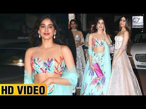 Xxx Mp4 Jhanvi Kapoor S Transparent Dress At Shilpa Shetty S Diwali Party LehrenTV 3gp Sex