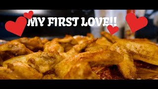 Making Oven Crispy Chicken Wings (Food Review)