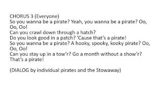 You wanna be a Pirate2