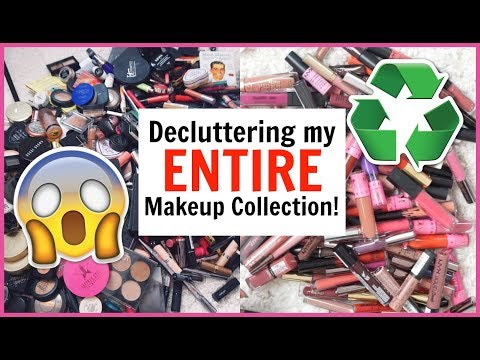 Xxx Mp4 Decluttering My ENTIRE Makeup Collection 1000s Of Products 3gp Sex