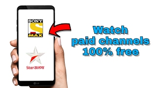 Watch Paid Tv Channels 100% Free