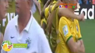 ركلات الترجيح البرازيل وتشيلي 3-2 - كاس العالم 2014 HD بصوت رؤوف خليف