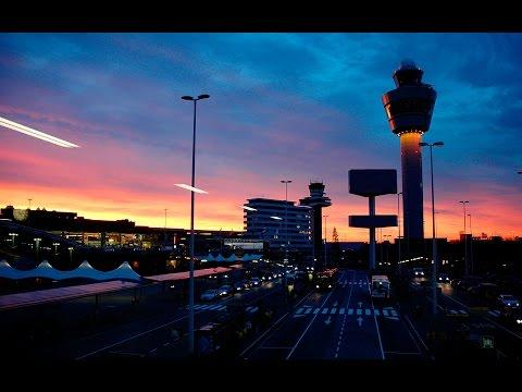 LIVE ATC Main Tower Runway Gate View EHAM Schiphol Amsterdam