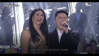 REGINE VELASQUEZ - Grand Welcome on ASAP STAGE w/ All Starts & the YouTube Sensation KEVIN TRAQUENA