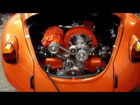 Supercharged VW Bug