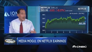 Media mogul gives his take on Netflix going into earnings