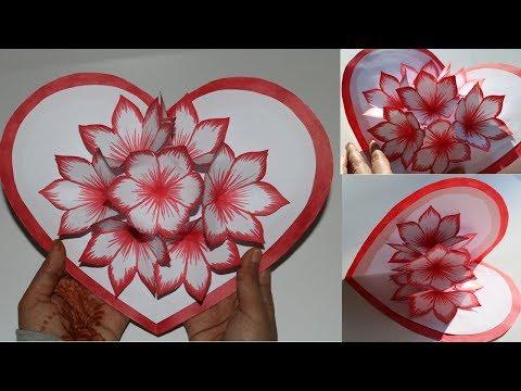Xxx Mp4 DIY Flower Pop Up Card 2 Paper Crafts Handmade Craft 3gp Sex