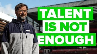 What Young Players NEED To Make It - Jürgen Klopp Advice