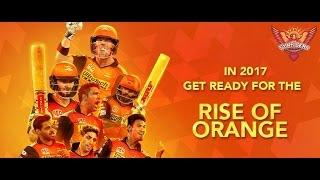 IPL 2017 ।। Sunrisers Hyderabad Official Team Squad।। Orange Army