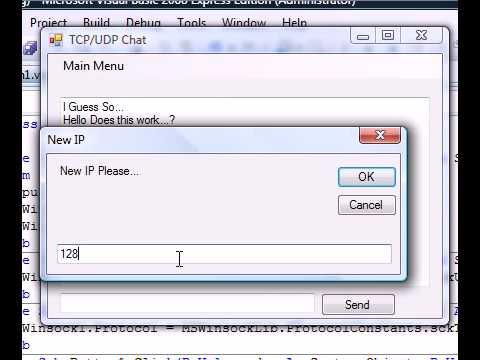 Vb 2010 winsock tutorial.