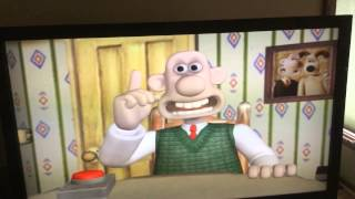 Stuffed game night Wallace and Gromit DVD game part 1
