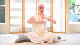 Nirinjan Kaur teaches the Adi Shakti Meditation