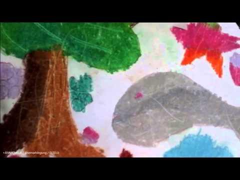 Karya Hasil Mewarnai & Menggambar Anak TK Kelas A