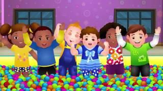 Magical Surprise Eggs Ball Pit Show For Kids Learn Colours Shapes Chuchu Tv Surprise Fun