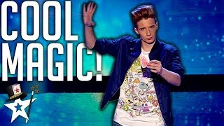 Young Magician Puts A Cool Spin on Magic | Spain
