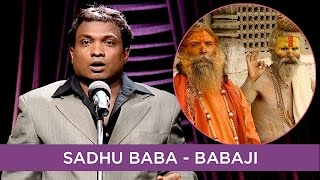 Sunil Pal Pokes Fun At Sadhu Baba - Babaji | B4U Comedy