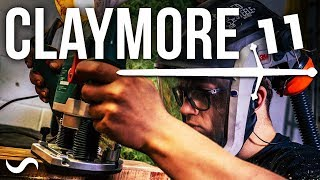 MAKING A SCOTTISH CLAYMORE SWORD!!! PART 11