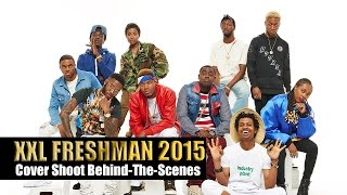 Behind-The-Scenes: XXL Freshman 2015 Shoot