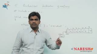 Strings | C Technical Interview Questions and Answers | Mr. Srinivas