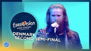 Rasmussen - Higher Ground - Denmark - LIVE - Second Semi-Final - Eurovision 2018