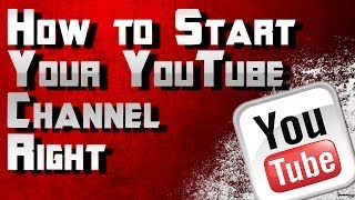 How to Start A Youtube Channel Right! How to Grow Your Youtube Channel Series by Ohaple