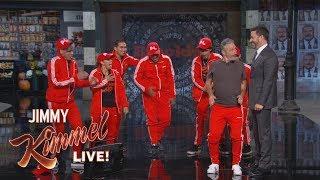 Jon Stewart Surprises Audience with Jimmy Kimmel & Matt Damon Video