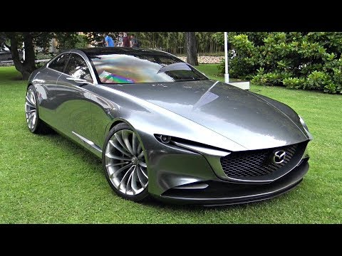Mazda Vision Coupé Concept Start Up Sound Moving & Loading Into a Truck