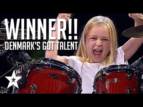 Xxx Mp4 10 Year Old Drummer Johanne Astrid Winner Of Denmark S Got Talent 2017 Compilation 3gp Sex