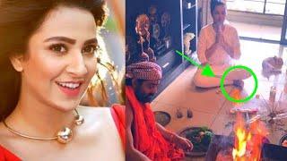 পূজার আসরে বসে এ কি করলেন শুভশ্রী! ফেসবুকে সমালোচনার ঝড়! | Kolkata Actress Subhashree Latest News!