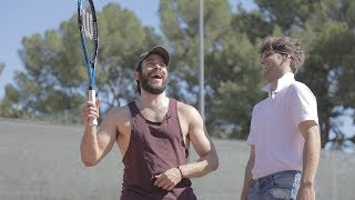Annual Cow Chop vs. Sugar Pine 7 Tennis-Off. 2017.