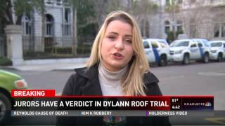 NBC Charlotte Dylann Roof Sentenced to Death Breaking Coverage