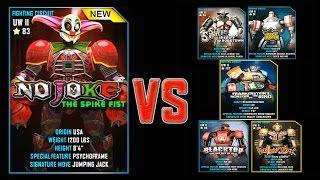 Real Steel WRB FINAL No Joke Series of fights NEW ROBOT (Живая Сталь)