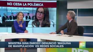 Ministra Gina Parody denunció 'máquina de manipulación' en redes sociales