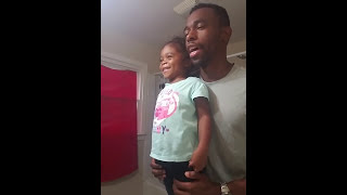 Dad Motivates Daughter for School