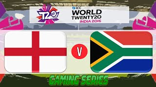 (GAMING SERIES) ICC T20 WORLD CUP 2016 – ENGLAND v SOUTH AFRICA GROUP 1 MATCH 20