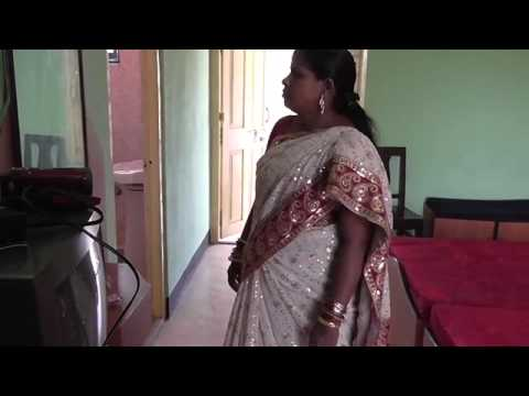 Aunty in home   YouTube