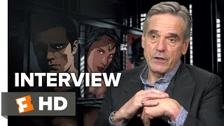 Batman v Superman: Dawn of Justice Interview - Jeremy Irons (2016) - Action Movie HD
