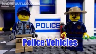 LEGO MOUNTAIN POLICE VEHICLES