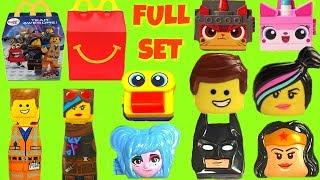 Full Set of The Lego Movie 2 McDonald