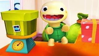 Baby Panda Mailman | Fun To Ride Around | Game For Kids