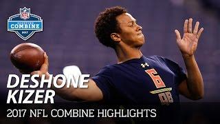 DeShone Kizer (Notre Dame, QB) | 2017 NFL Combine Highlights