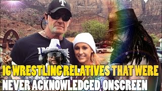 16 WRESTLING RELATIVES THAT WERE NEVER ACKNOWLEDGED ONSCREEN