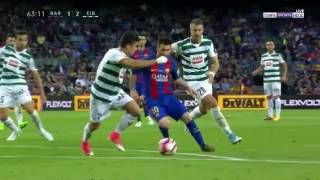 اهداف مباراة برشلونة و ايبار 4-2 | شاشة كاملة | الدوري الاسباني