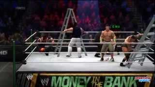 WWE Money In The Bank 2014 WWE World Heavyweight Championship Ladder match part 2 pg WWE 2K14