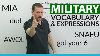 Common MILITARY expressions & vocabulary in everyday life
