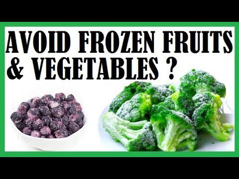 Should We Avoid Frozen Fruits & Vegetables Dr Michael Greger