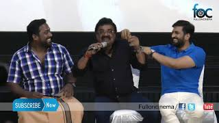 VTV Ganesh counter speech about santhanam's salary issue at SPPR Press Meet